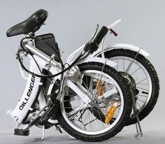 Dillenger Electric Bikes Folded Electric Bike This