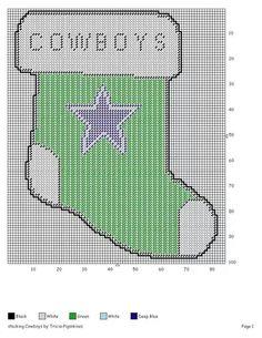 Cowboys Stocking