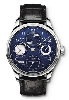 IWC Portuguese Perpetual Calendar Double Moonphase Watch