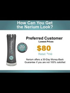 Got wrinkles??? What is Nerium Skin Care? ONE awesome product you use only at night. REAL Science, REAL Results! Age-defying treatment- fine lines wrinkles, skin texture, pores, aging and sun damaged skin-30day money back guarantee. www.youthsecrets.nerium.com
