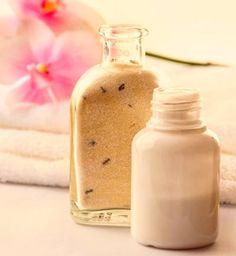Badezusätze - Rezept zum selber machen für Badezusatz für Milchbad