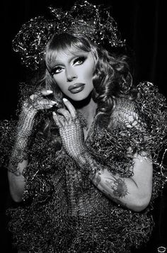 Raven one of the worlds most fierce drag queens