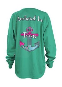 Royce Brand  Texas Anchored Long Sleeve Tee Girls 7-16