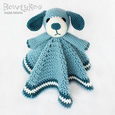 Dog Lovey by Briana Olsen #crochet #pattern
