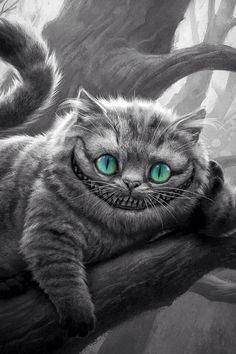 The Cheshire Cat is soooooooooooooo quirky and amazzin