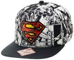Casquette Superman Graphique Comics