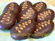 Christmas Sweets, Christmas Baking, Sweet Desserts, Sweet Recipes, Czech Recipes, Oreo Cupcakes, Meringue Cookies, Holiday Cookies, Chocolate Recipes