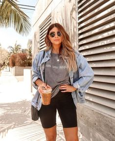 Fashion Tips Outfits .Fashion Tips Outfits Trendy Summer Outfits, Summer Fashion Outfits, Cute Casual Outfits, Short Outfits, Summer Fashions, Casual Shorts Outfit, Fashion Dresses, Summer Shorts Outfits, Summer Fashion For Teens