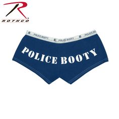 Rothco Police Booty Booty Shorts & Tank Top
