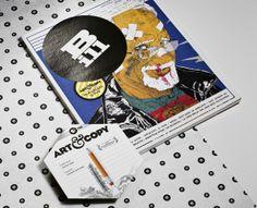 Bill magazine _DVD Case by Franz Degano, via Behance