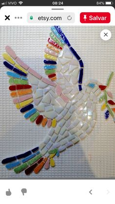Hardboard makes a good opening for your mosaics as long as you limit the size of the overall mosaic, limit the tesserae size, and don't … Mosaic Garden Art, Mosaic Tile Art, Mosaic Artwork, Mosaic Diy, Mosaic Crafts, Mosaic Projects, Diy Craft Projects, Mosaic Glass, Glass Art
