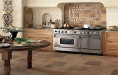 Exotic Kitchen Floor Tile Patterns ~ http://lanewstalk.com/kitchen-tile-flooring-ideas-for-new-look/