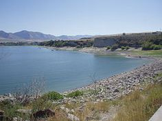 ~ Hyrum Reservoir ~ Hyrum, Utah....