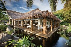 Tokoriki Island Resort is a secluded, lush getaway in the Mamanuca Islands of Fiji.