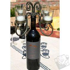4 Arm Votive  Candelabra  For Wine Bottle at Wine Enthusiast - $39.95