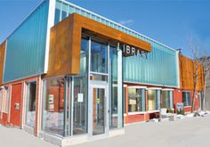 Mount Dennis Branch - Toronto Public Library. Renovation by G. Bruce Stratton Architects.
