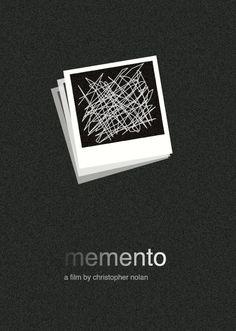 Memento (2000) ~ Minimal Movie Poster by Jeremy Henrickson #amusementphile