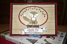 Creating With Joan: Stampin' Up! Foxy Friends and the NEW! Pinewood Planks: DOstamperSTARS#246