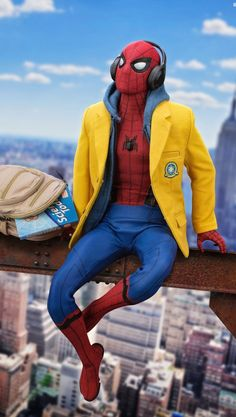 Spiderman - Marvel Wallpapers HD For iPhone/Android Marvel Comics, Films Marvel, Marvel Characters, Marvel Heroes, Marvel Cinematic, Marvel Dc, Captain Marvel, Amazing Spiderman, Spiderman Art