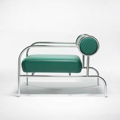 Shiro Kuramata for Cappellini; easy chair, Japan/Italy, 1982