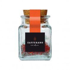 Zafferano dell'aquila purissimo in pistilli. Acquistalo online su www.bisquis.com Food | Nourriture | 食べ物 | еда | Comida | Cibo | Art | Photography | Still Life | Colors | Product | Packaging | Design | Spices | Saffron