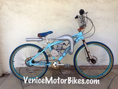 Felt troy lee designs motorized bicycle piston bike for Custom motorized bicycles parts