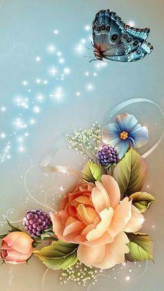 Morning Love Quotes, Good Morning Love, Good Morning Greetings, Morning Images, Goog Morning, Flower Phone Wallpaper, Butterfly Wallpaper, Cellphone Wallpaper, Iphone Wallpaper