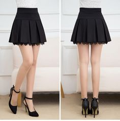 Bottoming lace skirt package hip spring short skirt