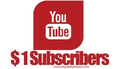 Buy YouTube subscribers for $1 Best place to get more real subscribers on YouTube. Buy subscribers with credit card, PayPal, or Bitcoin are possible. Click to find more :) #YouTubeSubscribers #YouTube
