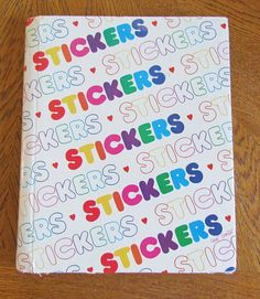 This is the one I used to have! Was just telling my daughter about sticker albums/stores the other day- I have to show her this.