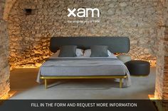 Xam beds collection: new Asha Basic 3.0