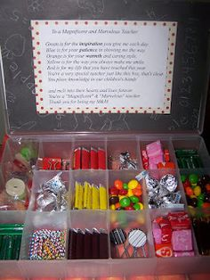 Cool Teach - Adventures in Teaching: More teacher gift ideas --- Adapt items depending on the time of givin (Christmas, Teacher Apprenciation, End of Year)