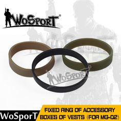 WoSporT Tactical Fixed Ring of Accessory Boxes of Vests Outdoor MG-02 Box Band for Airsoft Paintball Hunting Army Military