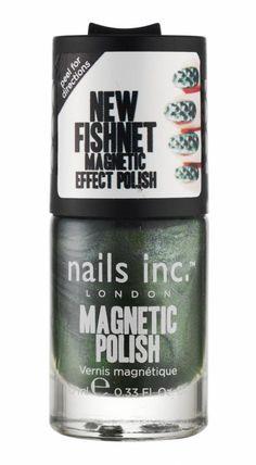 Nails Inc - Magnetic - Spitalfields Fishnet (Emerald)
