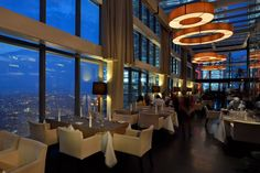 Marini's on 57's, Dine while overlooking the scenery of the entire Kuala Lumpur City Centre