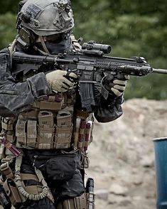 My favorite type of airsoft: Milsim