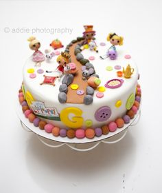 Lalaloopsy Cake Specially Made for Gladys ^_^.