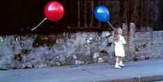 Red balloon, blue balloon. Am I the only one who remembers this movie? It used to be my favorite!