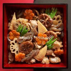お正月のおせちやお食い初め、 普段のおかずにも(ノ´▽`)ノ お野菜がゴロゴロ入ってて とっても健康的ですね♡