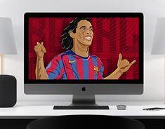 "Check out new work on my @Behance portfolio: ""Ronaldinho Gaucho Illustration."" http://be.net/gallery/61374561/Ronaldinho-Gaucho-Illustration"