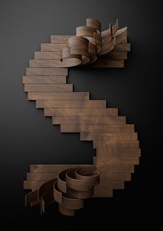 Nike Typography with Wooden Slats9