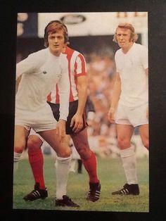 A5 Football picture/poster CLARKE/JONES Leeds Utd, JOHN HOLE Plymouth