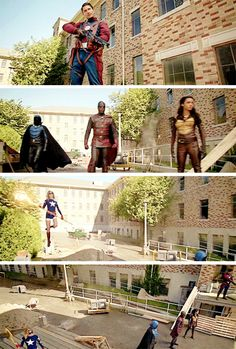 We're the Justice Society of America. #LegendsofTomorrow #Season2 #2x01