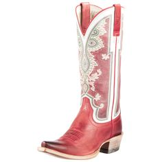 Ariat Red Alabama Cowgirl Boots | Alabama, Red boots and Love