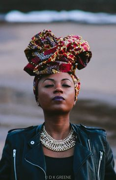 "raven-things: "" 'Makeda' headwrap by Morowa Headwraps loovee-thy-self Photo by greeneuphorias """