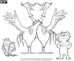 Truffle trees coloring pages ~ Lorax, The lorax and Coloring pages on Pinterest