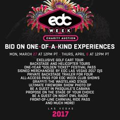 Insomniac Unveils 3rd Annual EDC Week Charity Auction With Extraordinary Experiences, Benefiting Boys & Girls Clubs of Southern Nevada – Vegas24Seven.com