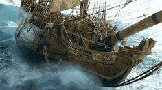 Black Sails (2014, Starz) - It took three hundred people to build just one of the hulking sets for Black Sails. www.youtube.com/watch?v=M9q6IcpGjlM