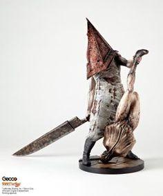 Silent Hill 2 Piramide Rossa Statua Figure 33 cm Nuova Sigillata + Sconti
