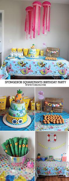 Spongebob Squarepants Birthday Party - seven thirty three